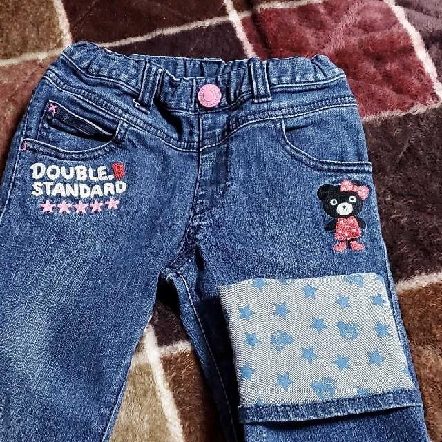 DOUBLE.B(ダブルビー)のミキハウス ダブルB 110 キッズ/ベビー/マタニティのキッズ服女の子用(90cm~)(パンツ/スパッツ)の商品写真