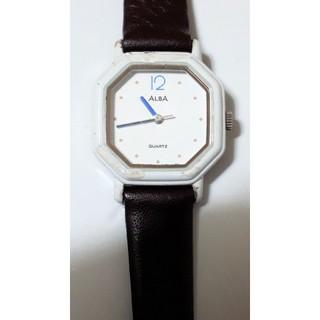 アルバ(ALBA)の【動作品・ベルト新品】ALBA♪型番V251-5170QUARTZ腕時計(腕時計)