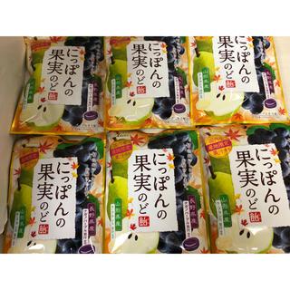 ライオン(LION)のライオン にっぽんの果実のど飴72g×6袋セット!!(菓子/デザート)