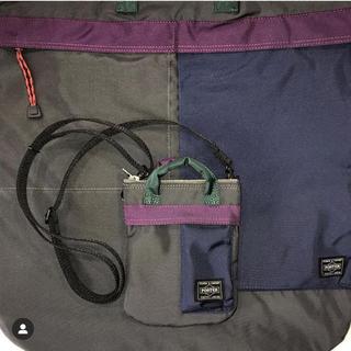 kolor - kolor porter ミニバック マルチカラー