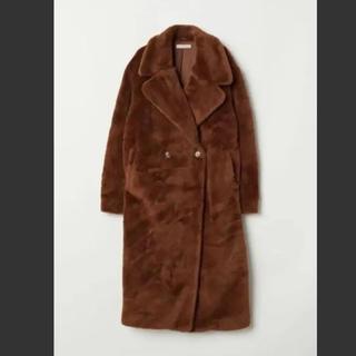 エイチアンドエム(H&M)のH&M テディベアコート 未使用 34サイズ(毛皮/ファーコート)