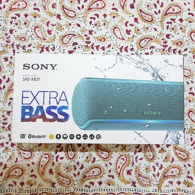 SONY(ソニー)の ソニー SONY ワイヤレスポータブルスピーカー SRS-XB21 スマホ/家電/カメラのオーディオ機器(スピーカー)の商品写真
