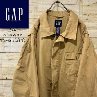 ギャップ(GAP)の90s  OLD GAP ビックシルエット キルティング アクティブジャケット(ブルゾン)