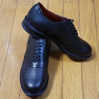 リーガル(REGAL)のリーガル サドルシューズ ブラック×ブラック REGAL Shoe & Co(ドレス/ビジネス)