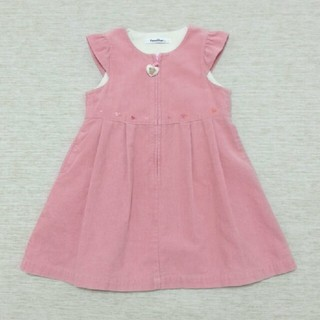 familiar - [100]美品ファミリア ピンク ワンピース