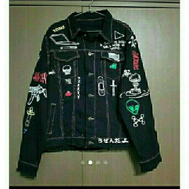 ZARA(ザラ)の【希少デザイン】 デニムジャケット トップス Gジャン ジーンズ デニム メンズ メンズのジャケット/アウター(Gジャン/デニムジャケット)の商品写真