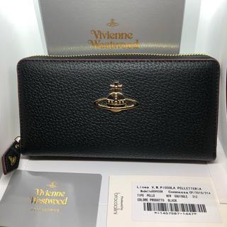 Vivienne Westwood - Vivienne Westwood ビッグオーブ 長財布 ブラック 新品未使用