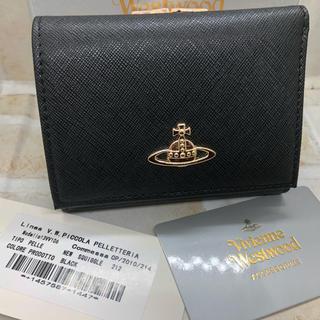 ヴィヴィアンウエストウッド(Vivienne Westwood)のVivienne Westwood 三つ折り 財布 ブラック 新品未使用(財布)