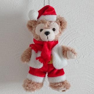 ダッフィー - 【ダッフィー】サンタ ぬいぐるみバッジ