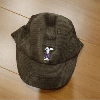 プティマイン(petit main)の新品 プティマイン キャップ 帽子 スヌーピー コラボ 50(帽子)