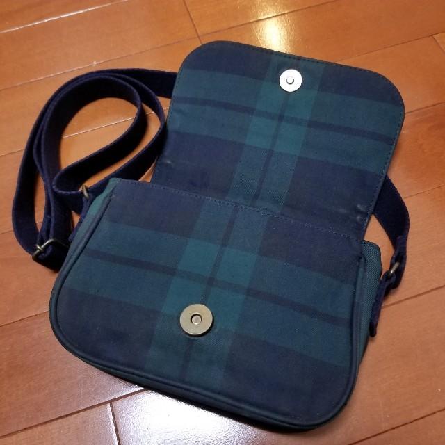 Ralph Lauren(ラルフローレン)のラルフローレン ショルダーバッグ キッズ チェック ポシェット キッズ/ベビー/マタニティのこども用バッグ(ポシェット)の商品写真