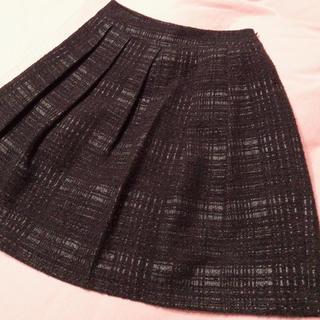 エムプルミエ(M-premier)のM-premier Black フレアスカート 36 (ひざ丈スカート)