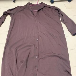 ロングシャツ(シャツ/ブラウス(長袖/七分))