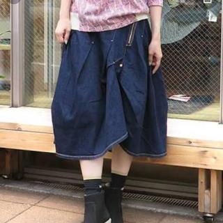 mercibeaucoup - メルシーボーク デニムスカート