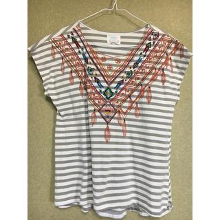 チチカカ(titicaca)のチチカカ プリントTシャツ(カットソー(半袖/袖なし))