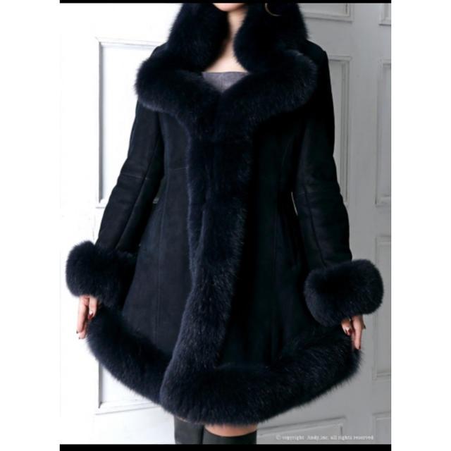 Andy(アンディ)のandyファーコート レディースのジャケット/アウター(毛皮/ファーコート)の商品写真