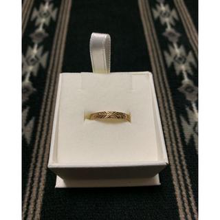 【期間限定お値下げ】ハワイアンジュエリー ピンクゴールド 指輪 k18(リング(指輪))