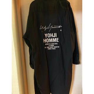 Yohji Yamamoto - ヨウジヤマモト  17ss スタッフシャツ
