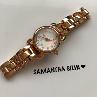 Samantha Silva - 12月おすすめ★サマンサシルヴァ❤︎ティンカーベル 腕時計  【稼働品】