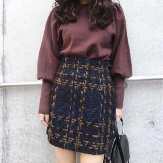 SLY - SLY ツイードスカート