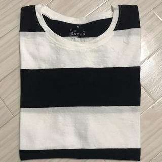 MUJI (無印良品) - 無印良品 Tシャツ ボーダー M