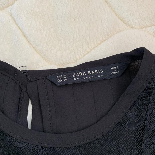 ZARA(ザラ)のZARA ザラ レーストップス レディースのトップス(カットソー(半袖/袖なし))の商品写真