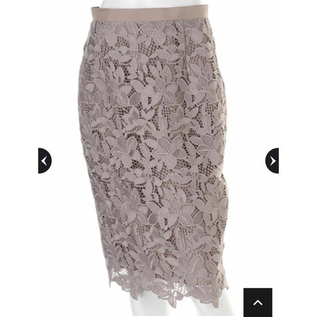 JUSGLITTY(ジャスグリッティー)のジャスグリッティ★フラワーレースタイトスカート レディースのスカート(ひざ丈スカート)の商品写真
