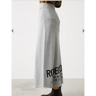 RODEO CROWNS WIDE BOWL - RODEO CROWNS WIDE BOWL   ロゴ ニット スカート