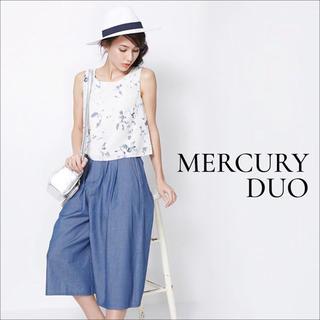 MERCURYDUO - MERCURY DUO フラワー トップス ブラウス♡スナイデル ミーア ザラ