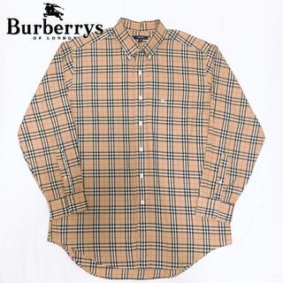 BURBERRY - 【1番人気】バーバリー ノバチェック シャツ ベージュ Burberry 90s