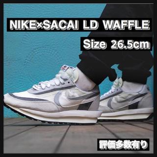 ナイキ(NIKE)の【26.5cm】NIKE×SACAI LD WAFFLE(スニーカー)