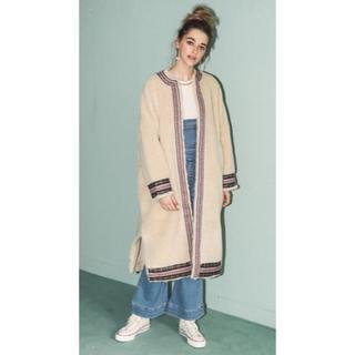ALEXIA STAM - ALEXIA STAM Boa Fleece Collarless Coat