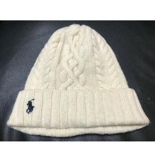 POLO RALPH LAUREN - 美品ポロ ラルフローレン ニット帽