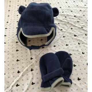 babyGAP - gap ベビー帽子手袋セット 12〜18M 48㎝
