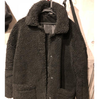 H&M - H&M ボアジャケット オーバーサイズ ブルゾン