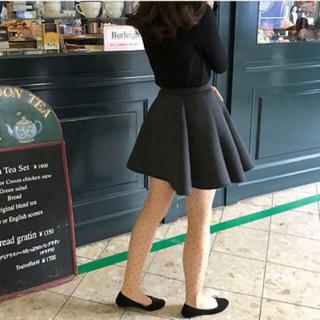 le reve vaniller - ブラック スカート
