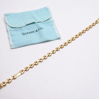 Tiffany & Co. - TIFFANY ティファニー ブレスレット 750 YG 18Kイエローゴールド