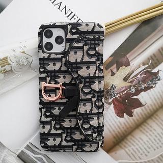 iPhone - 新品未使用・iPhone携帯ケース・黒・携帯置き