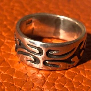 トライバル  シルバー925 リング 銀 指輪 メンズピンキー ユニセックス(リング(指輪))