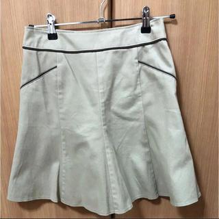 マーメイドスカート ベージュスカート(ひざ丈スカート)