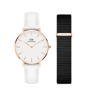 Daniel Wellington - 【32㎜】ダニエル ウェリントン腕時計DW189+ベルトSET〈3年保証付き〉