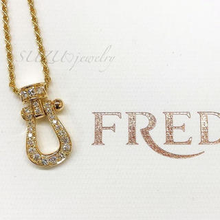 FRED - 芸能人愛用💖FREDフォース10好き✨18kゴールドネックレス❤️