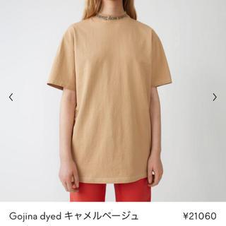 アクネ(ACNE)の【格安出品】acne studios ロゴカットソー Tシャツ アクネ(Tシャツ(半袖/袖なし))