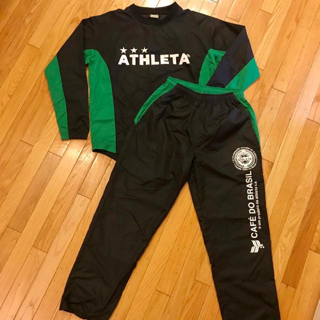 ATHLETA(アスレタ)の専用です☆ATHLETA ピステ上下セット スポーツ/アウトドアのサッカー/フットサル(ウェア)の商品写真