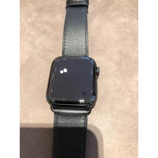 エルメス(Hermes)のApple Watch シリーズ5 44mm all black 未使用新品(腕時計(デジタル))