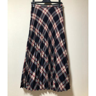 IENA SLOBE - IENA SLOBE マドラスチェックプリーツスカート