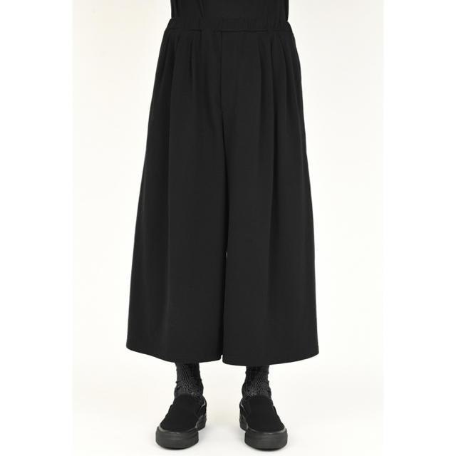 LAD MUSICIAN(ラッドミュージシャン)のlad musician 19ss コットンクロス 3タックワイドフレアパンツ メンズのパンツ(スラックス)の商品写真