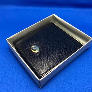 クリスチャンディオール(Christian Dior)のクリスチャンディオール Christian Dior 財布 ウォレット 黒 牛革(折り財布)