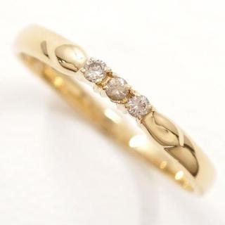 リング K18  ダイヤ 0.05ct  指輪(リング(指輪))