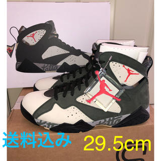 ナイキ(NIKE)のPATTA × NIKE AIR JORDAN 7 RETRO SEQUOIA(スニーカー)